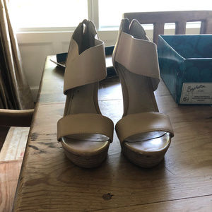 Tan wedges-Seychelles Brand-Size 6.5